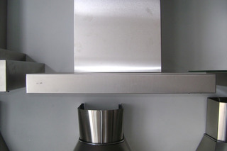 Campana Cocina Slim S/salida C/filtro De Carbon Activado
