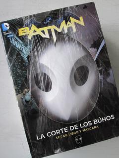Batman La Corte De Los Buhos, Comic Y Mascara, Televisa