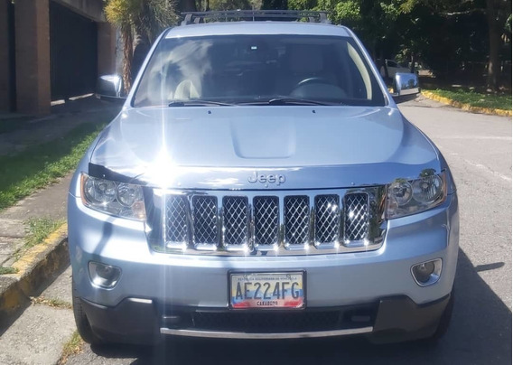 G Cherokee 2012 5ptas Azul