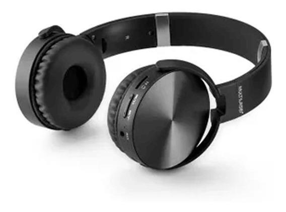 Headphone Premium Bluetooth Sd / Aux / Fm Preto Multilaser