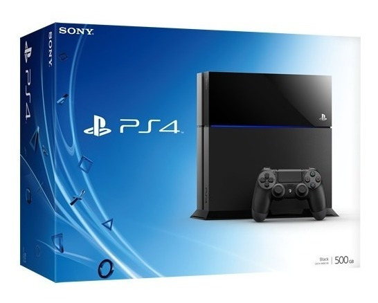Playstation 4 500gb Blu Ray Hdmi +12x Sem Juros Frete Gratis