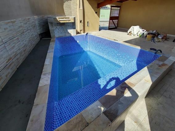 Casa Com Piscina Na Praia R$ 280 Mil Ref: 7482 C