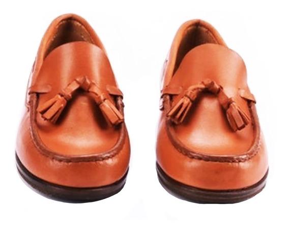 Zapato De Vestir Mocasín Clásico Tipo Italiano Niño