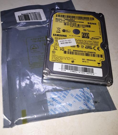 Hd Notebook 320 Gb Samsung Hm320hj/srm