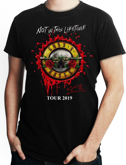 Playera Guns Roses Not In This Lifetime Tour ´19 Guadalajara