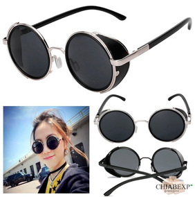 d2ced55c2 Armação Óculos Lente Sem Grau Flexível Infantil 8812 Unissex · Óculos  Stempunk Glasses De Sol Uv400 Retrô Vintage Unissex