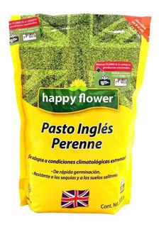 Semilla De Pasto Inglés Perenne Happy Flower De 500 G