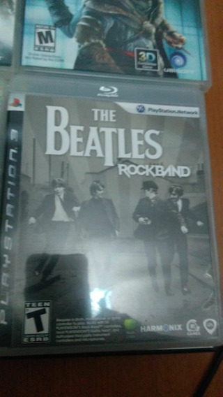 The Beatles Rockband - Ps3 - Mídia Física