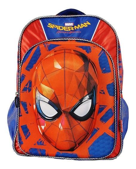 Mochila 3d Niño Spiderman Hombre Araña Ruz Original +envio G