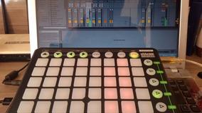 Launchpad Novation Ableton Controladora Dj Produção Musica