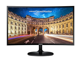 Monitor Samsung 27p. Curvo Gamer F390 Full Hd 1080 Vga Hdmi