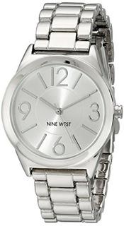 Reloj Nine West Silvertone Link