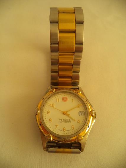 Relógio De Pulso Masculino Wenger S. A. K Design