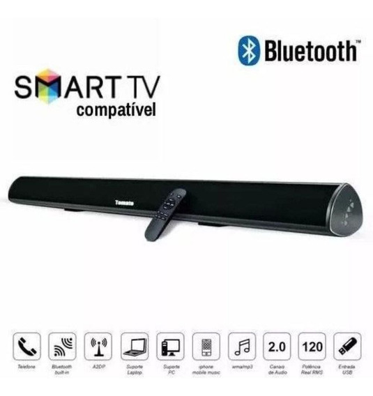 Caixa Som Sound Bar Tv C/ Bluetooth 80w Tomate Mts-2016