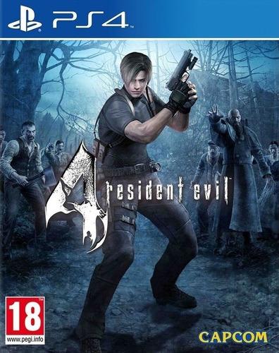 Resident Evil 4 Y Más, Alquiler Mensual Ps4 Digital Primario