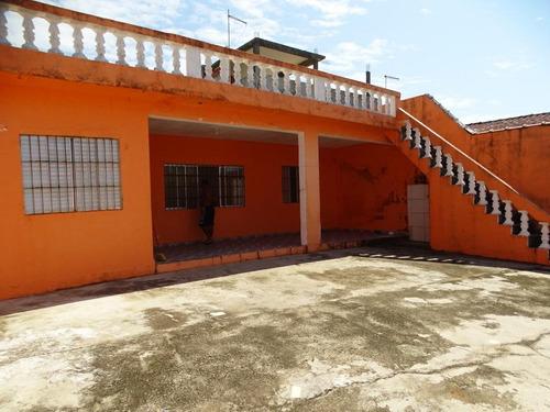 Casa Com 4 Dormitórios À Venda, 216 M² Por R$ 350.000 - Balneário Itaoca - Mongaguá/sp - Ca0751