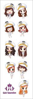 Plancha De Stickers De K-pop De Girl