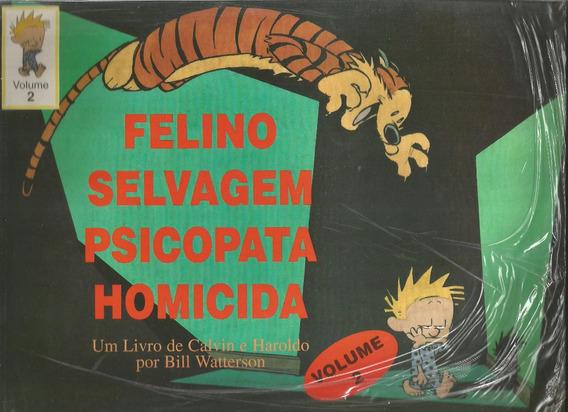 Calvin E Haroldo Felino Selvagem Psicopata Homicida V.2 Hq