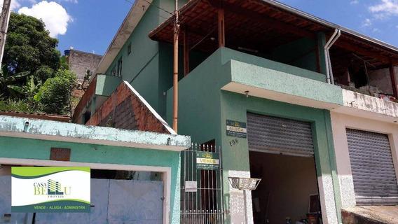 Casa Residencial Para Venda E Locação, Vila Lanfranki, Franco Da Rocha. - Ca0108