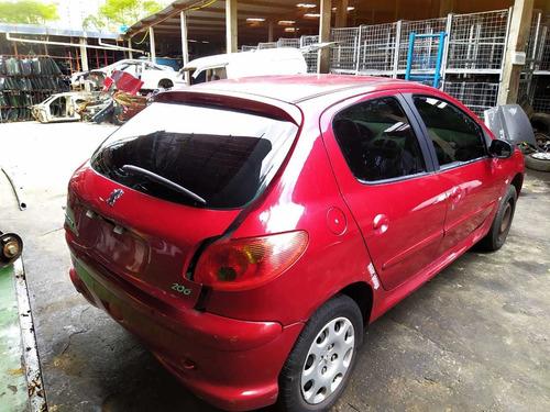 Sucata Peugeot 1.6 16v Ano 2006 Só Para Retirada De Peças