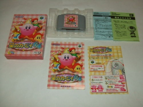 Kirby 64 Japonês Completo