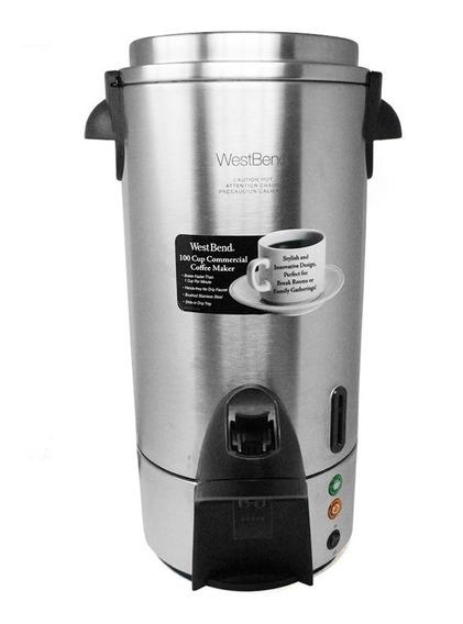 Cafetera Percoladora 100 Tzs C/abolladura West Bend 54100