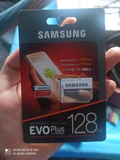 Memoria Sd Card Samsung Evo Plus 128gb