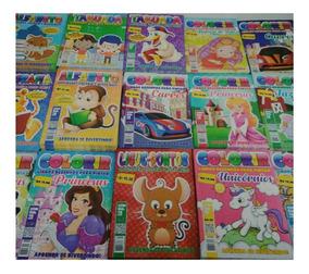 60 Revistas,livrinho Infantil (colorir E Atividades)