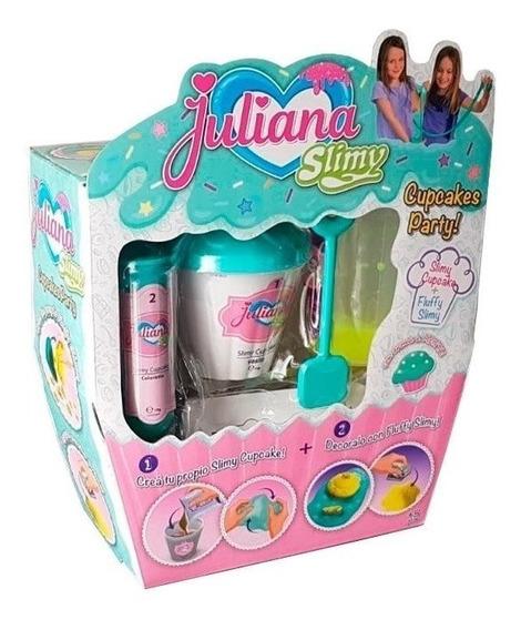 Juliana Fábrica De Slimy Cupcake Party Frutilla O Menta