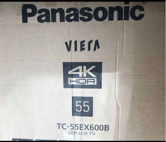 Smart Tv 55 Panasonic Viera 4k Tc-55ex600b