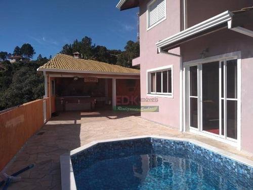 Imagem 1 de 8 de Chácara Com 4 Dormitórios À Venda, 3000 M² Por R$ 1.100.000,00 - Vitória Régia - Atibaia/sp - Ch0534