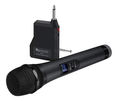 Microfono De Mano Inalambrico Uhf Conector 1/4