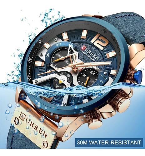 Promoção Relâmpago! Relógio Curren - Original Ultra Elegante