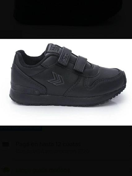 Zapatillas Atomik Negras Como Nuevas