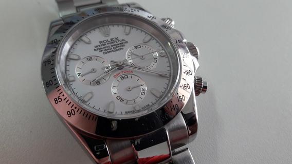 Relógio Rolex Daytona Modelo 116520 Eta Aço Inox Automático
