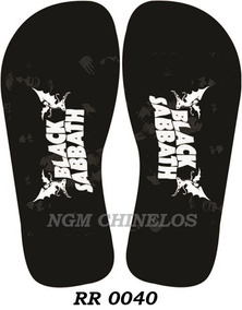 Chinelo Rock And Roll Rr0040