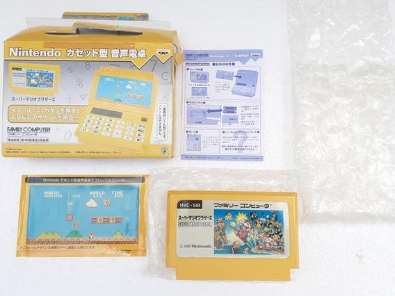 Calculadora Nintendo Tema Mario 3 Banpresto Original