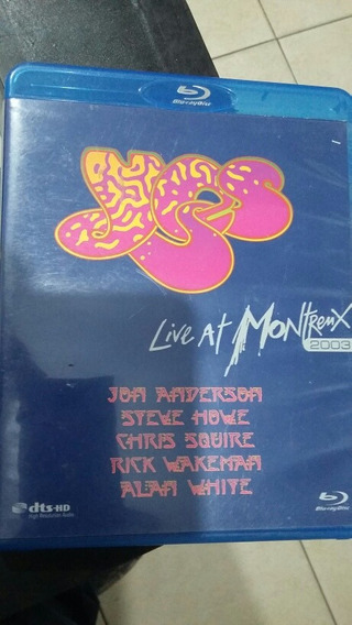 Blu Ray Yes Live At Montreaux