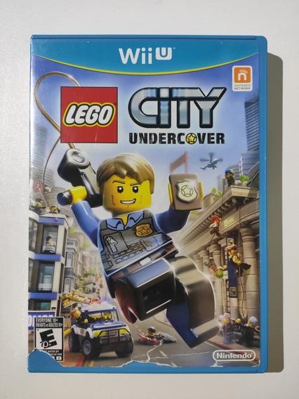 Lego City Undercover Americano Mídia Física Wii U