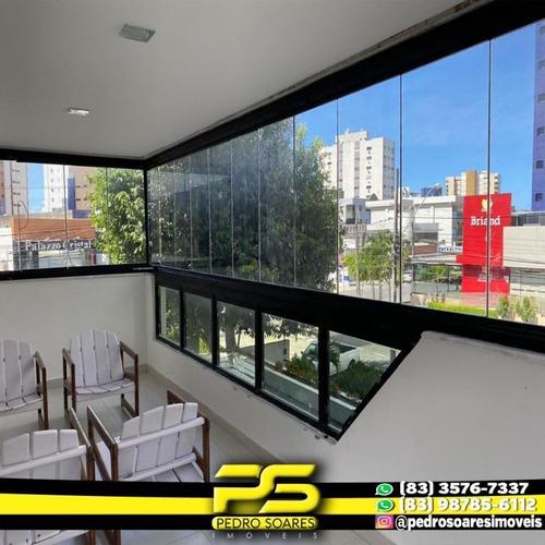 Apartamento Com 4 Dormitórios À Venda, 197 M² Por R$ 700.000,00 - Tambaú - João Pessoa/pb - Ap2926