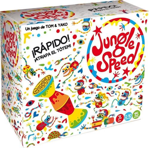 Juego De Mesa Jungle Speed Atrapa El Totem Original Top Toys