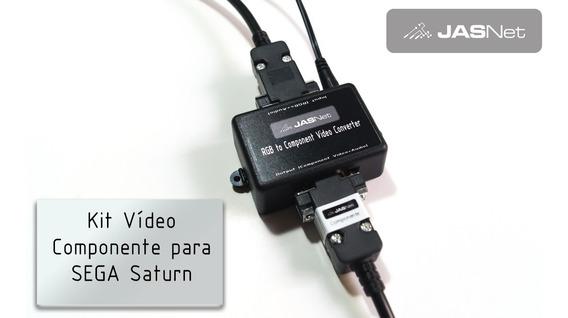 Kit Video Componente Para Saturn (jasnet)