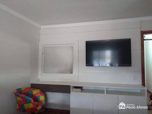 Casa Com 2 Dormitórios À Venda, 100 M² Por R$ 230.000,00 - Loteamento Residencial Santa Clara Ii - Poços De Caldas/mg - Ca0163
