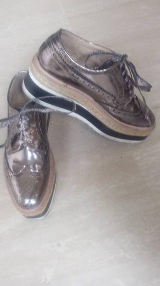 Se Venden Zapatos Oxford Usados Talla 38