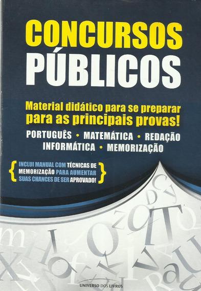 Concursos Públicos - Material Didático Para Se Preparar