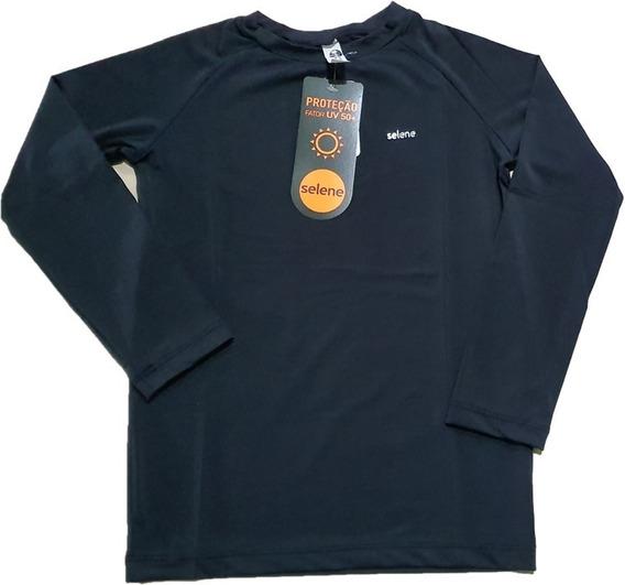Camiseta Proteção Solar Uv 50+ Manga Longa Infantil - Selene