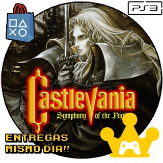 Castlevania Symphony Of The Night Ps3 Digital -kg-