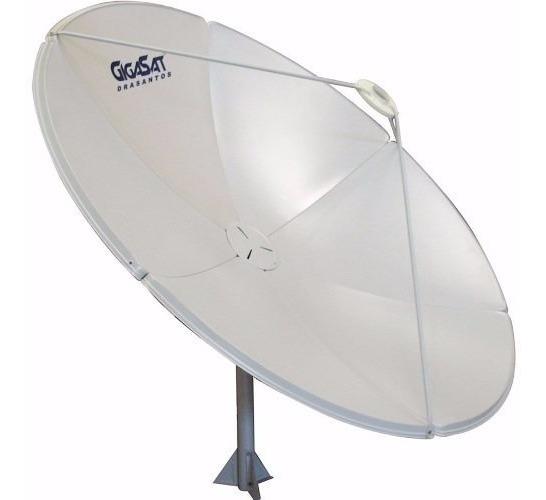 Melhor Q Telada 230cm Antena Parabólica Gigasat Chapa 180cm