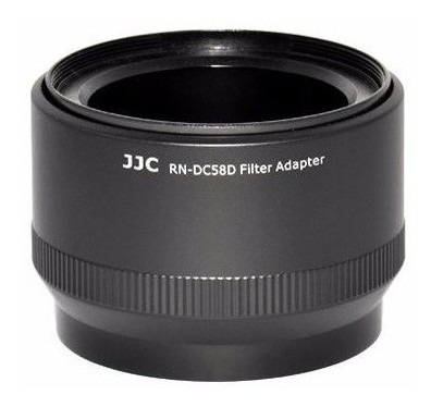 Adaptador Filtros Câmeras Canom G15 E G16 Em Plastico Rígido