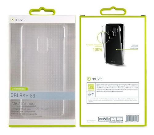 Capa Samsung Galaxy S9 Capinha Case Rígida Transparente